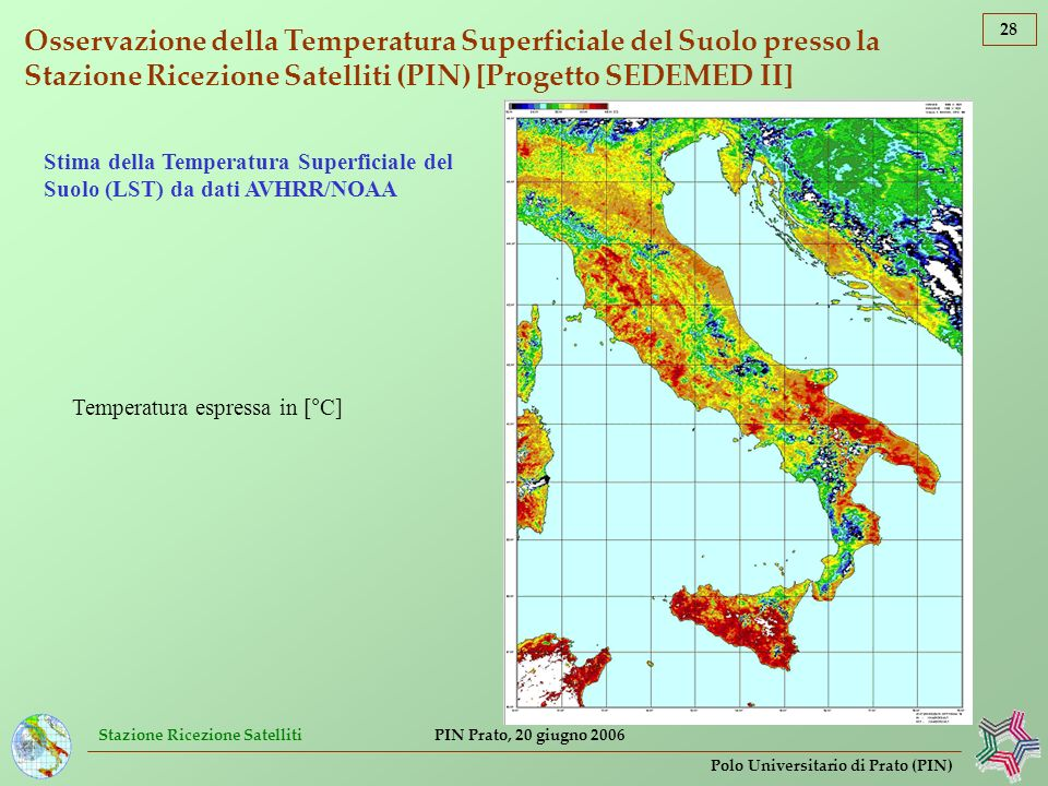 Temperatura espressa in [°C]